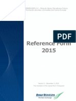 2015 REFERENCE FORM - VERSION 5