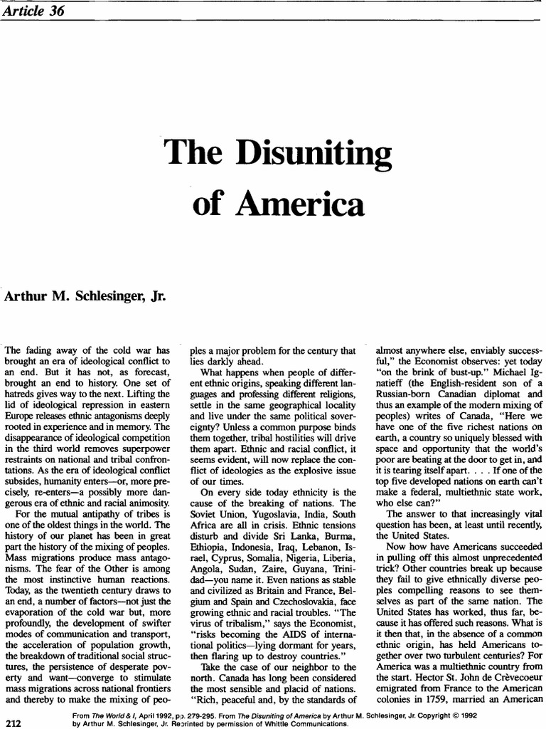 The disuniting of america thesis kids should get paid for good grades essay