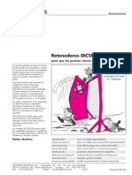 02 Retenedores DICTATOR