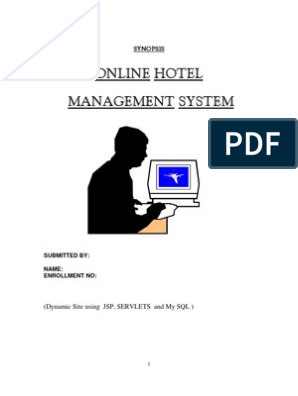 Synopsis of hotel management system | Point Of Sale