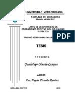 26. Límite de Deducibilidad de Erogaciones Exentas Del ISR
