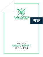 Baw Any Air Annual Report 2014