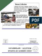 Jodo Mission of Hawaii Bulletin - September 2015