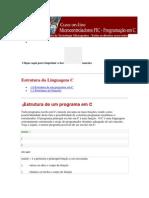 Estrutura de Linguagem C MikroC