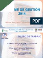 Rendicion de Cuentas 2014 OCID