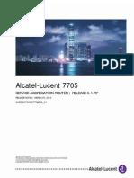 7705 SAR OS 6.1.R7 Software Release Notice