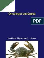 Oncología quirurgica presentación