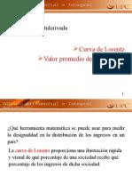 3.13 Curva de Lorentz
