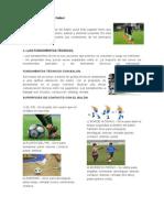 Elementos Tecnicos Del Futbol