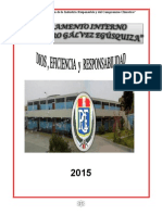 Reglamento Interno PGE 2015