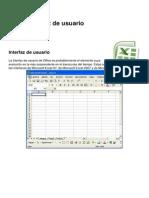 Excel Interfaz Del Usuario