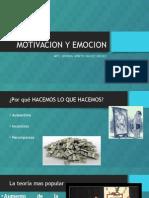 1.- Motivacion y Emocion