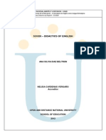 Modulo Didactics of English