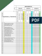 Libretas Excel