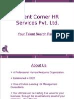 Talent Corner HR Services Pvt Ltd.