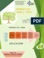 EXPOSICION SEMINARIO. NORMAS ISO 14001 (1).pptx