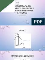 Hidroterapia MI,MS&TRONCO