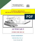 Autocad 3 File