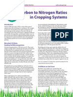 Carbon to Nitrogen Ratios in Cropping Systems