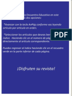 Revista Digital Encuentro Educativo Vol1