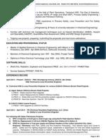 CV-Alok-Sr. Safety & Loss Prevention Engg (June-2015)