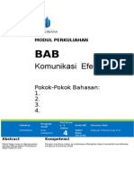 MODUL MATERI Etika BAB Komunikasi Efektif-1