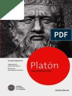 Herwig Görgemanns - Platón una introducción