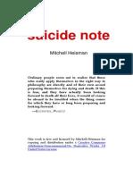 Heisman 10 -- Suicide Note