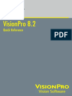 COGNEX VisionPro 8.2 Quick Reference