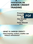 Carbon Credit Ppt