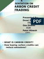 Carbon Credit Ppt