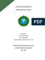 Laporan Farmasetika Dasar Praktikum V.doc
