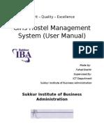 GHMS Warden User Manual