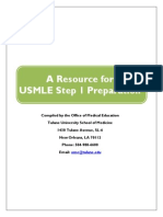 USMLE Step 1 Guide 2013-2014