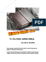 The Blood Stained Path to the King James Bible.