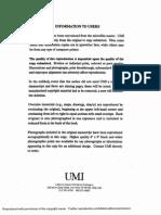 Dissertation by Jason Geddes