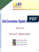 Grid Converters