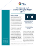 IVAC 2013 Pneumonia Diarrhea Progress Report