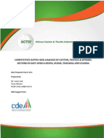 ACTIF Report on Competitive Supply Side Analysis of CTA Sectors in -Kenya, Sudan, Tanzania and Uganda_Varun Vaid_2011