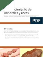 Reconocimiento de Minerales y Rocas