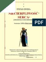 NIECIERPLIWOŚĆ SERCA_Stefan Zweig