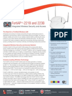 FortiAP-223B Data Sheet