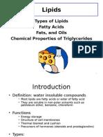 Lecture 5 - Lipids