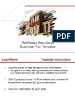 RHA Business RHAPlan Submission Template