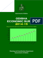 Odisha Economic Survey 2014-15