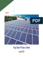 Argo Solar - Company Profile