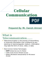 Cellular Communication by Danish Ahmed for NED