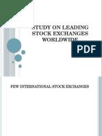 Study on Leading Stock Exchanges Worldwide