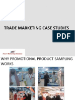 Trade Marketing Case Studies