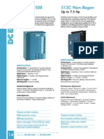 Eurotherm Drives Product Catalog DC Drives